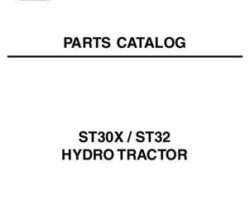 AGCO 79022313A Parts Book - ST30X / ST32 Compact Tractor (hydro trans)