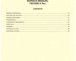 AGCO 79023898A Service Manual - ST30X / ST32 Compact Tractor (hydro trans) (packet)