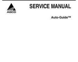 Gleaner Wheeled Tractors Auto-Guide System, Prior to Version 4.2, Service Manual