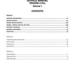 Gleaner 79032995B Service Manual - R66 / R76 Combine (assembly)