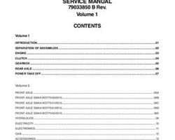 AGCO 79033850B Service Manual - DT205B / DT225B / DT250B / DT275B / DT300B Tractor (packet)