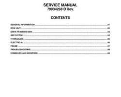AGCO 79034268B Service Manual - 8792 / 8776 Planter (packet)