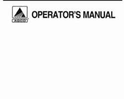 AGCO 79035535 Operator Manual - RT130 / RT145 / DT160 / DT180 / DT200 / DT225 Tractor