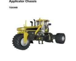 Ag-Chem 79035609B Service Manual - 5 Terragator (chassis) (packet)