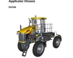 Ag-Chem 79036458A Service Manual - RG700B RoGator Applicator (chassis) (packet)
