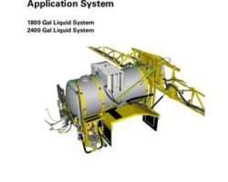 Ag-Chem 79036769A Service Manual - 1800 / 2400 Gallon Liquid System (system) (assembly)