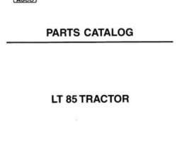 AGCO 819926M3 Parts Book - LT85 Tractor