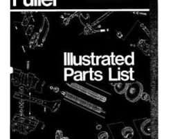 Ag-Chem AG006862 Parts Book - RT910 / RT915 / RT906 Fuller (transmission)