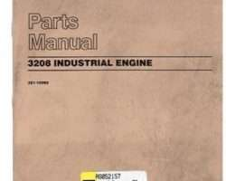 AGCO AG052157 Parts Book - 3208T Engine (industrial, 1997)