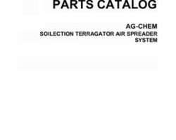 Ag-Chem AG052918C Parts Book - Soilection TerraGator (air spreader system)