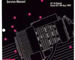 Ag-Chem AG054186 Service Manual - CE Eaton Fuller (18 spd transmission)