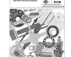 Ag-Chem AG054927 Parts Book - Roadranger Easton Fuller (transmission)