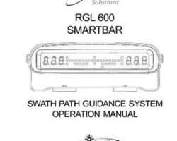 Ag-Chem AG137746 Operator Manual - RGL 600 Raven Smartbar Path Guidance