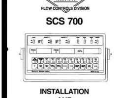 Ag-Chem AG609114 Service Manual - SCS700 Raven (monitor)