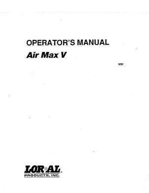 Ag-Chem AG609395 Parts Book - Air Max 5 Loral (system)