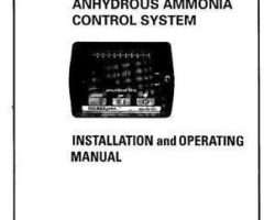 AGCO AG712396 Operator Manual - CCS100 / DjCCS100 Control System (for anhydrous ammonia)