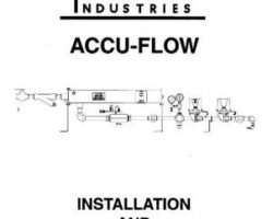 Ag-Chem AG713212 Service Manual - Accu-Flow Raven (monitor)