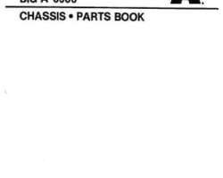 Ag-Chem AG721082 Parts Book - 3000 Big A Applicator (chassis)