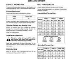 AGCO SN997773C Operator Manual - 5055 Field Cultivator Attachments