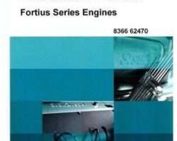 AGCO V836662470 Operator Manual - AGCO Power Sisu Fortius Engine (tier 2)