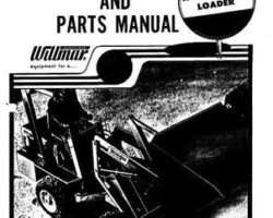 Willmar WRM25000 Operator Manual - Wrangler 3 Loader (gas, hysdrostatic, 1979)