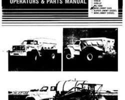 Willmar WRP0297 Operator Manual - Jimmy - Mini (gas truck chassis, man trans, 1983)