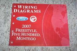 2007 Ford Freestyle & Five Hundred Electrical Wiring ...