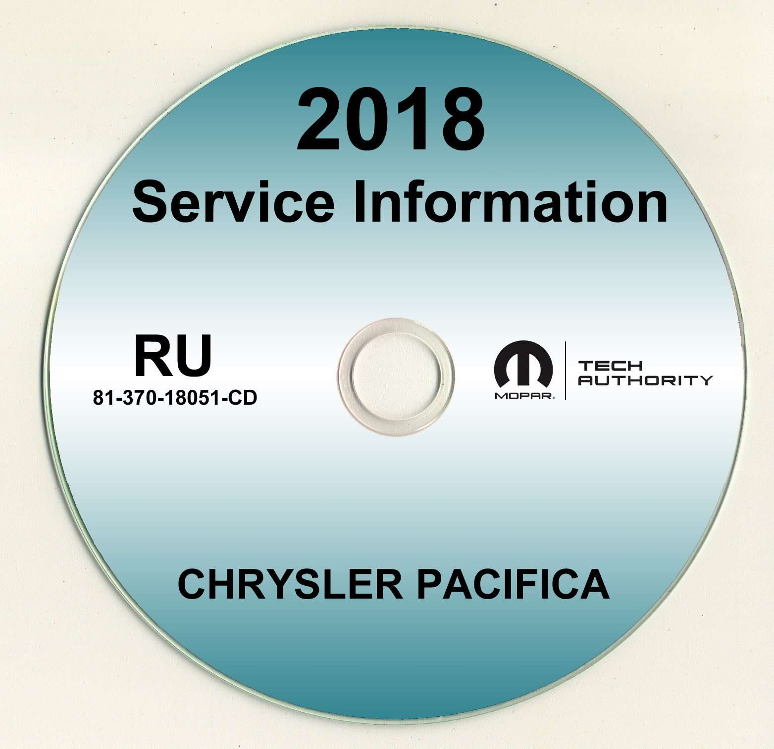 2018 Chrysler Pacifica Shop Service Repair Manual Cd