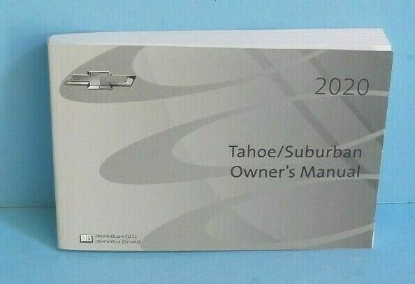 2020 Chevrolet Suburban Owner U0026 39 S Manual