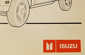 ISUZU Manuals: Owners Manual, Service Repair, Electrical Wiring and Parts
