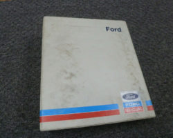 Service Manual for FORD Tractors model 09GN2101