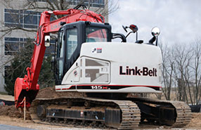 LINK-BELT Manuals: Operator Manual, Service Repair, Electrical Wiring and Parts
